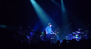 Grizzly Bear (band) - Grizzly Bear in 2012 at the Brixton Academy