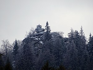 Great Waldstein in the Fichtel Mountains