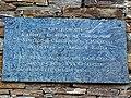 Grotte du Christ Noir, plaque, Bastia.jpg