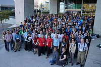 Group Photo WikiConference North America 2016 - First 01.jpg