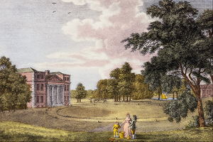 William Watts (engraver) - Grove House in Middlesex, the Seat of Mrs Luther (1796), by William Watts