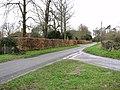 Grove Road-Ingram's Road junction in Brockdish - geograph.org.uk - 1780100.jpg