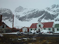 meaning of antarctic