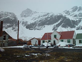Antarctic - Grytviken Museum in South Georgia