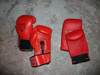 Boxing glove - Image: Guantes
