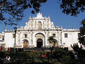 Image illustrative de l'article Cathédrale Saint-Joseph d'Antigua Guatemala