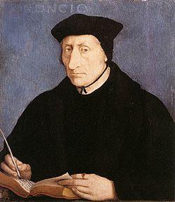 Guillaume BudéPortrait par Jean Clouet (1536).