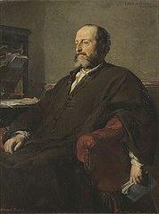 Portrait of Emile Augier