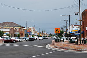 Gunnedah - Main street, 2008