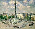 Gustave Loiseau, La Place de la Bastille, 1922.jpg