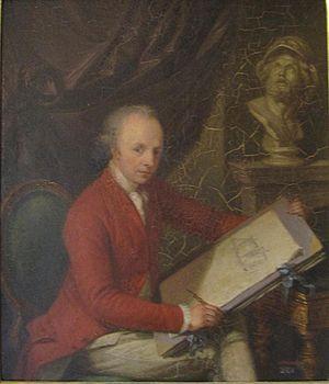 Charles Gore (artist) - Gore by Ludwig Guttenbrunn