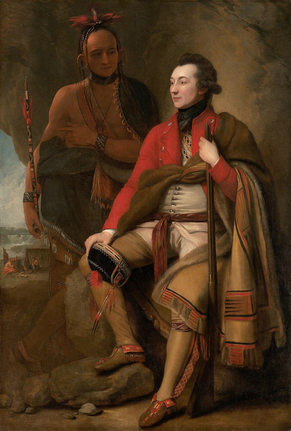 Guy Johnson by Benjamin West