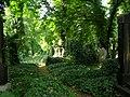 Hřbitov - Olšanské hřbitovy (Žižkov), Praha 3, Vinohradská, Želivského, Jičínská, Žižkov - část.JPG