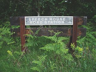 Speech House Road railway station