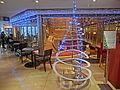 HK Jordan Nathan Road 香港逸東酒店 Eaton Hotel Hong Kong interior Xmas tree Jan-2014.JPG