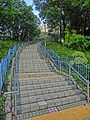 HK Wong Tai Sin 摩士公園 Morse Park No3 outside stairs fence May-2013.JPG