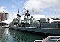 HMAS Vampire Daring Class Destroyer 6 (30488936470).jpg