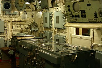 Fire-control system - Admiralty Fire Control Table in the transmitting station of HMS Belfast.