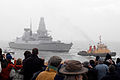 HMS Daring Enters Portsmouth for First Time MOD 45149879.jpg