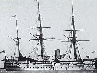 HMS Dido (1869) - Image: HMS Dido (1869) AWM 302178