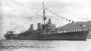 Aircraft cruiser ship type