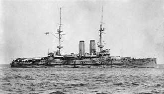 William Fane De Salis (admiral) - HMS Russell. De Salis captained this ship from 31 July 1909 to 20 February 1911.