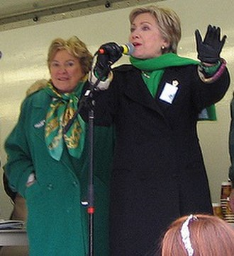 Catherine Baker Knoll - Knoll attends Pittsburgh's St. Patrick's Day Parade with Hillary Clinton
