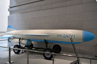 Silkworm (missile) - HY-2A missile.