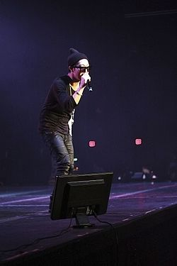 HaHa, Running Man Bros US Tour 2014, Dallas, December 14.jpg