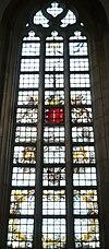 haarlem bavokerk grote markt-beverwijk raam