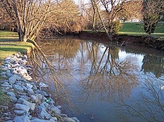 Hackers Creek - Hackers Creek in Jane Lew in 2006