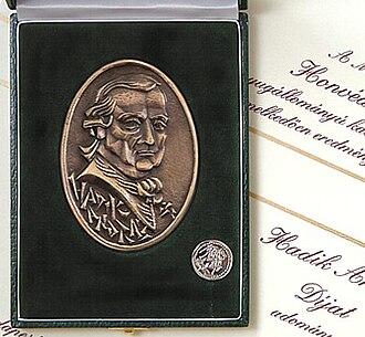 András Hadik - Image: Hadik Andras dij