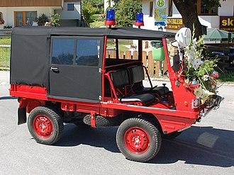 Steyr automobile - Haflinger