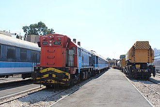 Israel Railways - Image: Haifa, Israel Railway Museum IMG 6204
