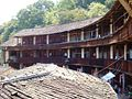 Hakka Tulou, seen from the upper floor, Yongding County, China.JPG