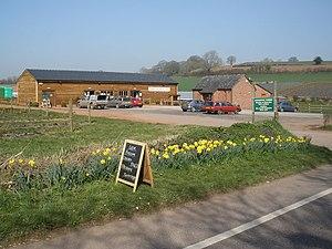 Farm shop - Halberton Court farm shop