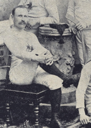 Halder Kirby - Halder Kirby in the 1892 Ottawa Hockey Club photo