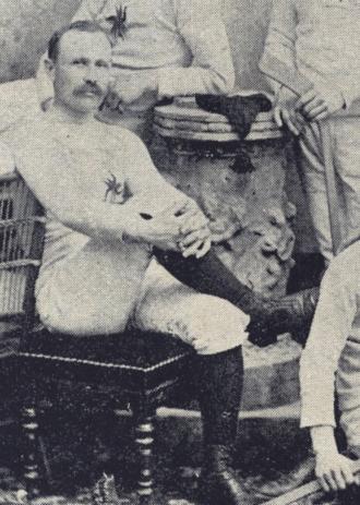 Halder Kirby - Halder Kirby in the 1892 Ottawa Hockey Club photo