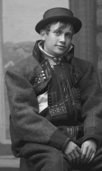 Halfdan Egedius - Halfdan Egedius in 1895