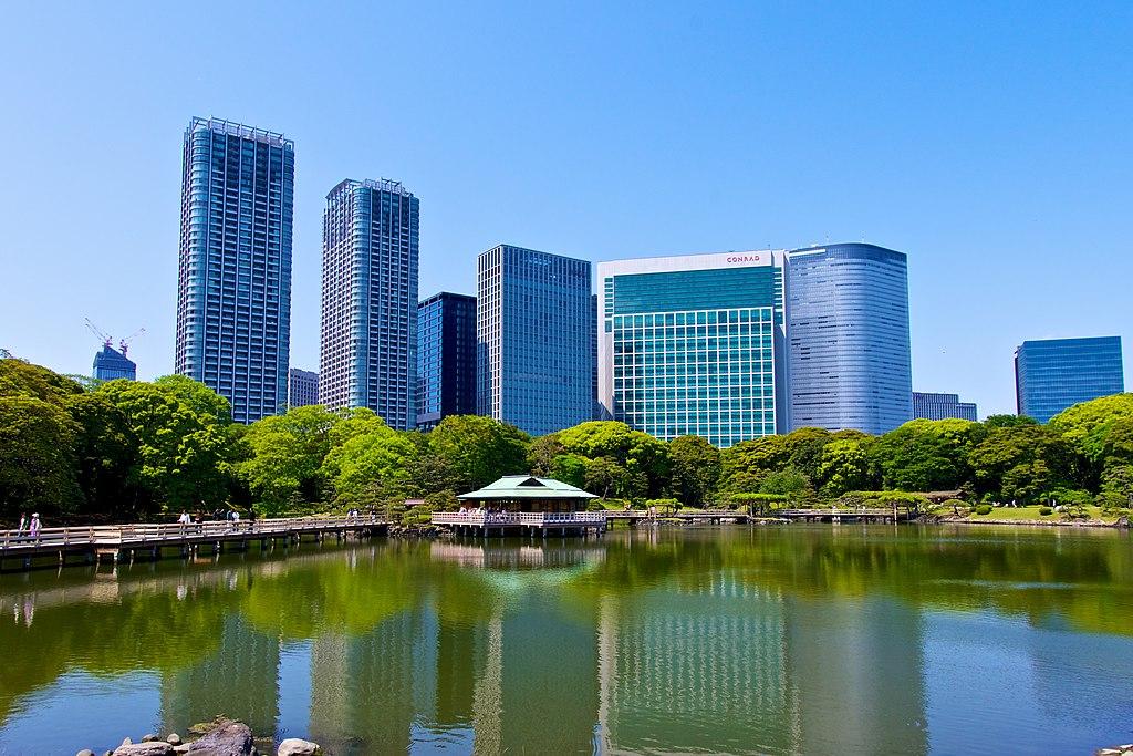 Hama-rikyu Gardens (Spring) - panoramio