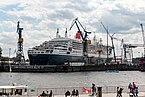 Hamburg, Hafen, Kreuzfahrtschiff -Queen Mary 2- im Dock -- 2016 -- 3065.jpg