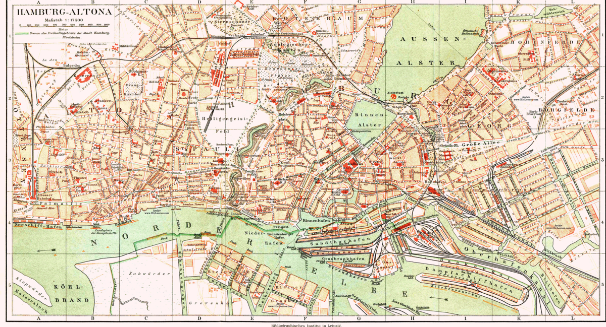 Mädel aus Hamburg, Freie und Hansestadt