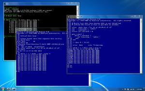 Hamilton C shell - Hamilton C shell and Cygwin bash date loops.