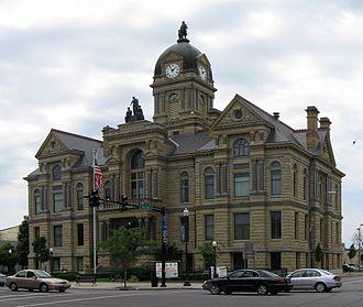 Findlay, Ohio - Hancock County Courthouse in Findlay
