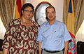 Hanna Tetteh and James Michel, May 2014.jpg