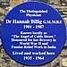 Hannah Billig blue plaque.jpg