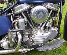 Harley Davidson Knucklehead Engine