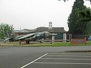 Harrier GR3 at RAF Wittering 2007