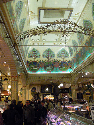 Delicatessen - The fish counter at Harrods in London