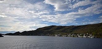 Stokkøya - Image: Harsvika i Stoksund